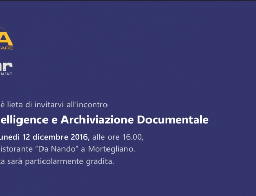 Evento NOVA 2016: Business Intelligence con WINNOVA e Gestione Documentale